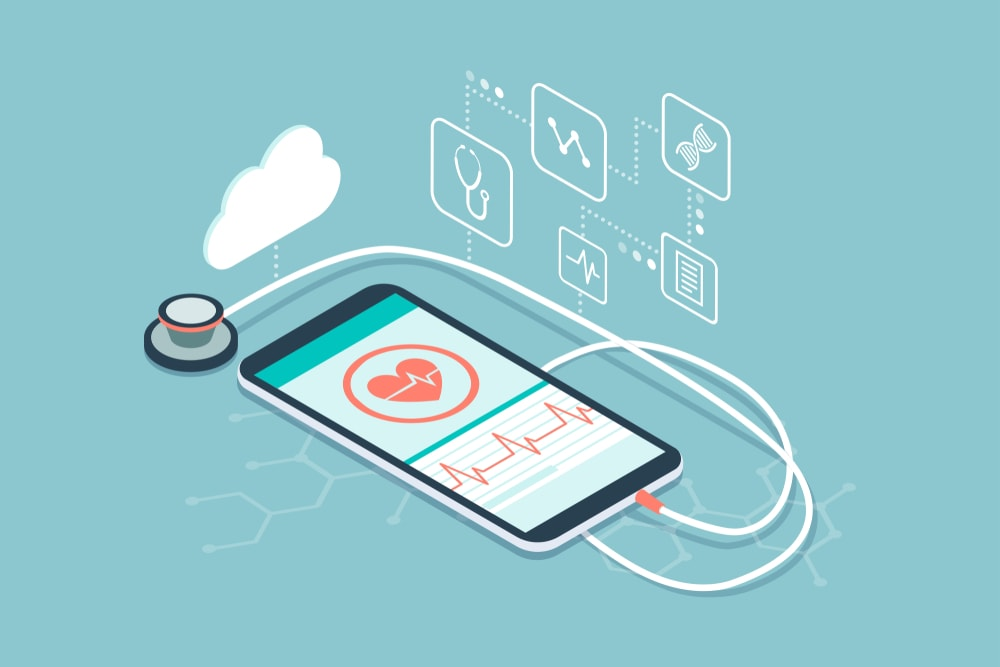 Reasons behind use of mobile apps for Telemedicine by the clinicians